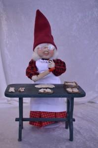 Strømpenissemor bager