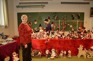 Katarina til juleudstilling