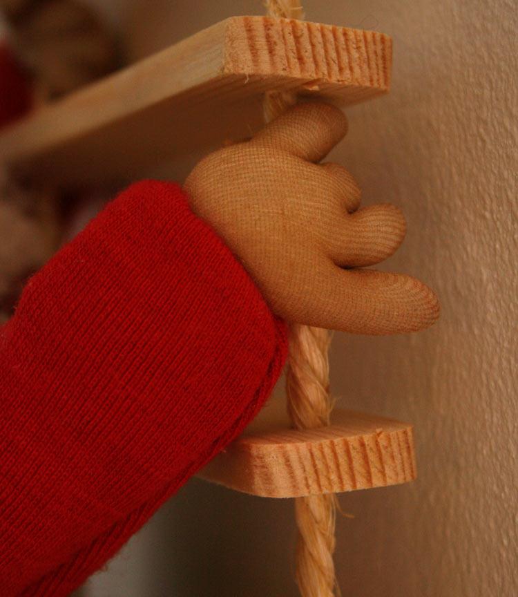 Rebstigenisse - detalje af hånden