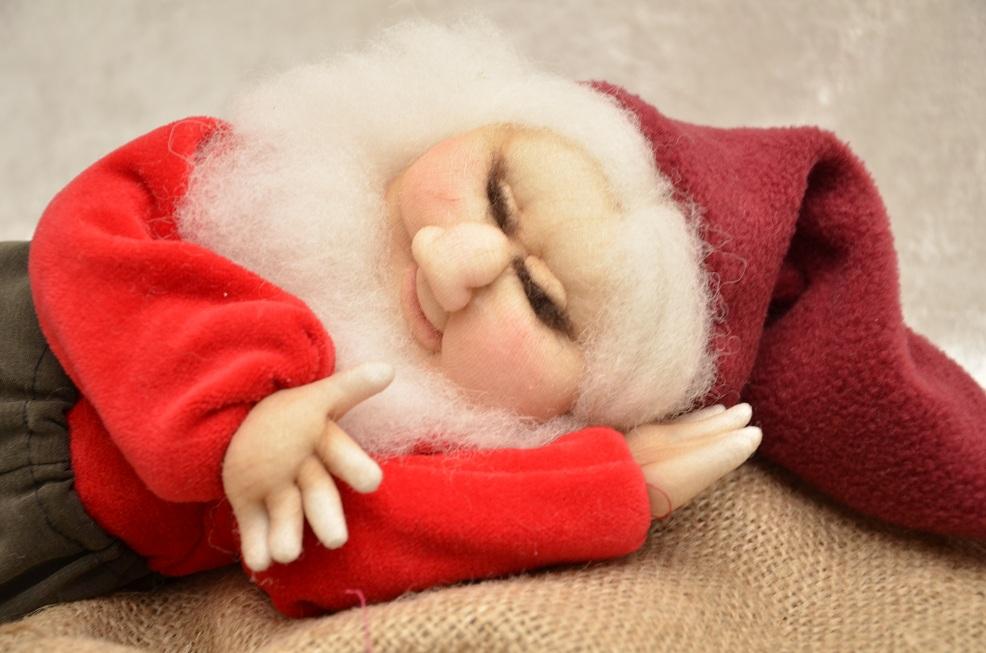 Nissefar sover