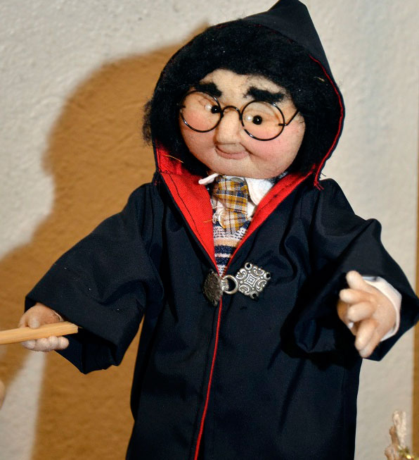 Harry Potter - specialstrømpedukke