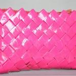 Flettaske, pink