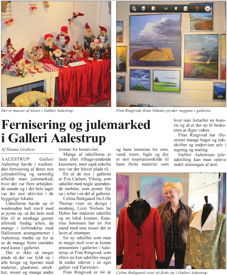 Vesthimmerlands Avis Galleri Ålestrup nov2012