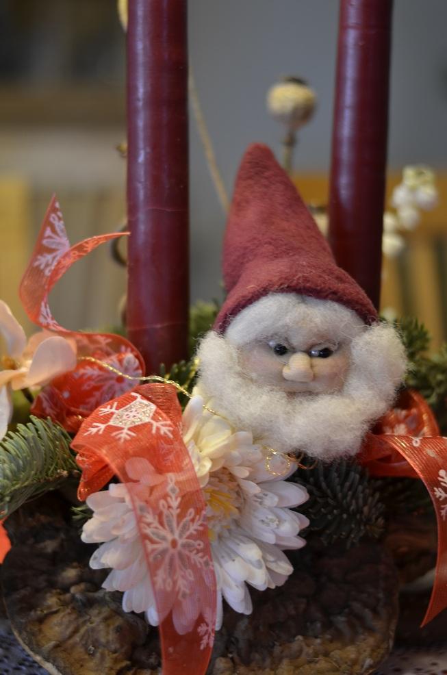 Strømpenisse i juledekoration