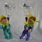 påskepynt - små dukker
