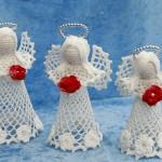 Hæklede engle fra Katarinas Nisser